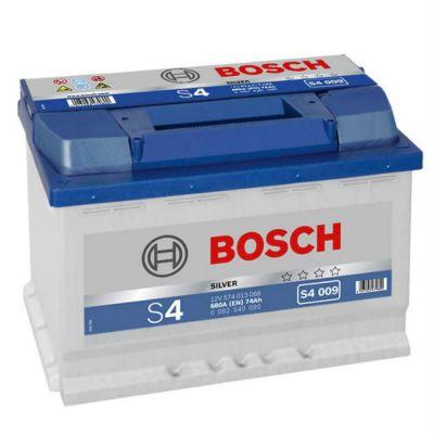 Автомобильный аккумулятор Bosch 74 п.п. (S4 009) 574 013 068 9164546