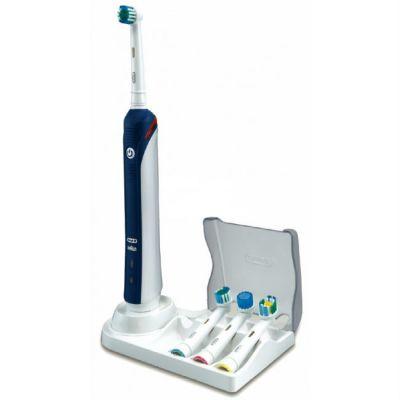 Электрическая зубная щетка Oral-B Professional Care 3000 белый/синий 81317991/63756718