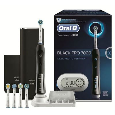 ������������� ������ ����� Oral-B 7000 CrossAction Smart Series � Bluetooth Black 80270220