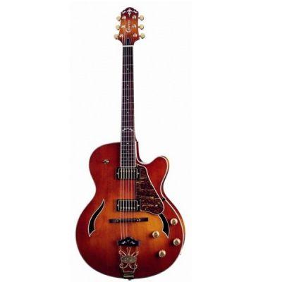 Полуакустическая гитара Crafter FEG 780SP/VTG-V + Кейс