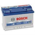 Автомобильный аккумулятор Bosch 72 о.п. (S4 007) 572 409 068 низк. 9164562