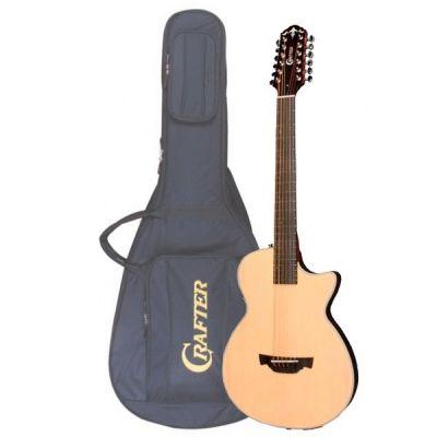 Электроакустическая гитара Crafter 12-ти струнная SA-12 TMBK + Кейс