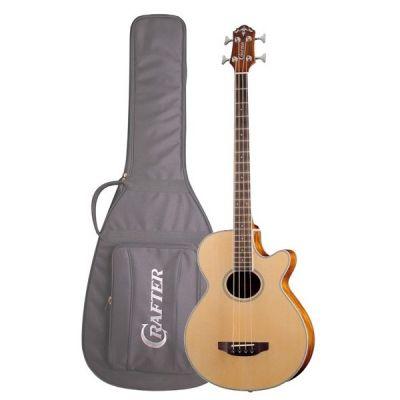 Акустическая гитара Crafter бас гитара BA-400 EQ/N + Чехол