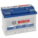 Автомобильный аккумулятор Bosch 74 о.п. (S4 008) 574 012 068 9164543