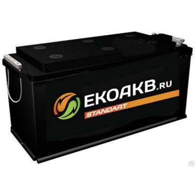 Автомобильный аккумулятор EkoAKB 132 N о.п. ( - + ) 9165668