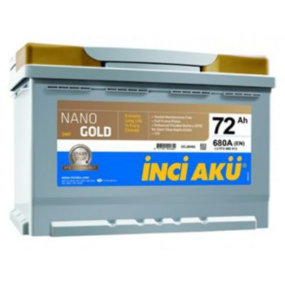 ������������� ����������� NanoGold Inci Start-Stop EFB (6777) 72 (680) �.�. 9176510
