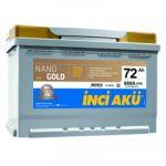 Автомобильный аккумулятор NanoGold Inci Start-Stop EFB (6777) 72 (680) о.п. 9176510