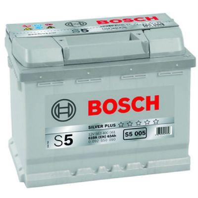 Автомобильный аккумулятор Bosch 63 о.п. (S5 005) 563 400 061 9135440