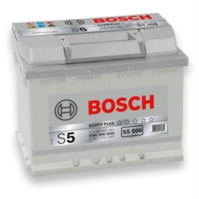 Автомобильный аккумулятор Bosch 63 п.п. (S5 006) 563 401 061 9135441