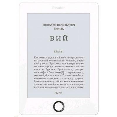 Электронная книга Reader Book 1 белый/черный RB1-WB-RU