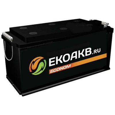Автомобильный аккумулятор EkoAKB 190 N о.п. ( - + ) переход 9165314