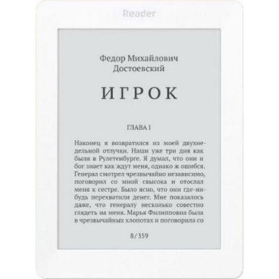 Электронная книга Reader Book 2 белый/черный RB2-WB-RU
