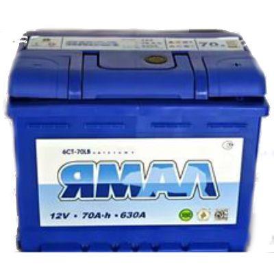 Автомобильный аккумулятор Ямал 70 п.п. (корпус 60) 9168706