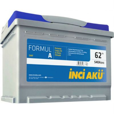 Автомобильный аккумулятор Formula Inci (2149) 62 (540) о.п. 9174515