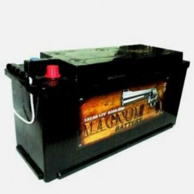 Автомобильный аккумулятор Magnum 132 о.п. конус (- +) 9177705