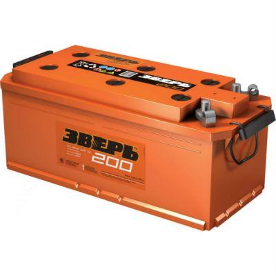 Автомобильный аккумулятор Зверь (ЗВ) 200АЗ-L-У п.п. ( + - ) 9138264