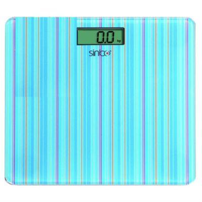 Весы напольные Sinbo SBS 4427 (голубой)