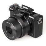 Зеркальный фотоаппарат Nikon 1 J5 Black+ VVA241K001