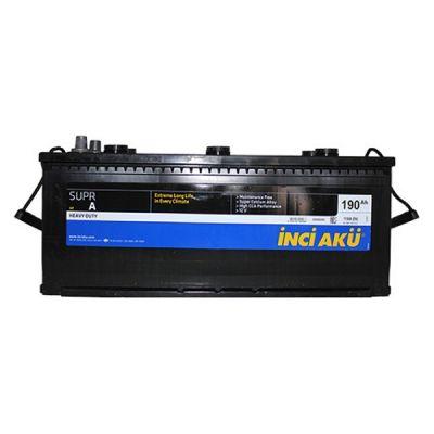 Автомобильный аккумулятор Supr A Inci (7569) HD 190 (1100) п.п. 9174562