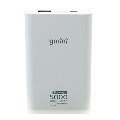 Портативный аккумулятор Gmini mPower iSeries MPB5030 White, 5000mAh АК-00000506