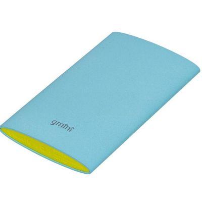 Портативный аккумулятор Gmini mPower Pro Series MPB601 Slim Blue, 6000mAh АК-00000635