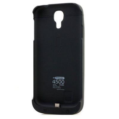 ����� Gmini � ������������� mPower Case MPCS45 Black, ��� Galaxy S4, 4500mAh