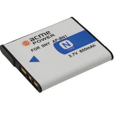 Аккумулятор AcmePower для Sony DSC Li-Ion, 3.7V, 600mAh AP-BN-1
