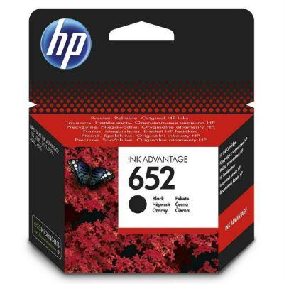 Расходный материал HP 652 Black F6V25AE