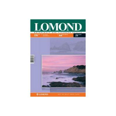 Расходный материал Lomond Фотобумага Двусторонняя Матовая/Матовая A4