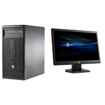 """Комплект HP Десктоп 280 G1 MT+ Монитор V212a 20.7"""" N9F65EA"""