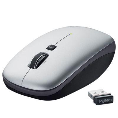Мышь беспроводная Logitech V550 Nano Grey 910-000891