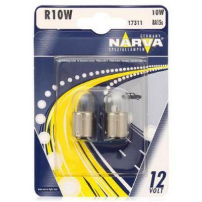 Narva Автолампа N-17311 R 10 W (BA15s) 12 В (по 10 шт.) 9159873
