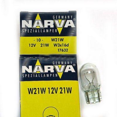 Narva Автолампа N-17632 W21 W(W3*16d) большая 12 В (по 10 шт.) 9159889