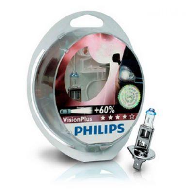 Philips Автолампа P-12972VP2 12 В, Н7, 55 Вт, P*26d + 60% VISION PLUS (2шт) 9160122