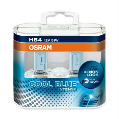Osram Автолампа O-9006CBI2(EURO) HB4/9006 (51) P22d+20% COOL BLUE INTENSE (евробокс, 2шт) 12V 9185266