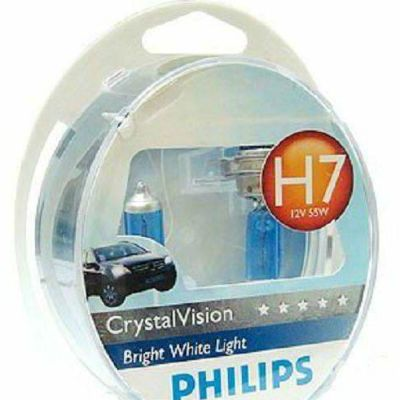 Philips ��������� P-12972CV2 H7 (55) PX26d CRISTAL VISION 4300K (2��+2�� W5W) 12V 9185402