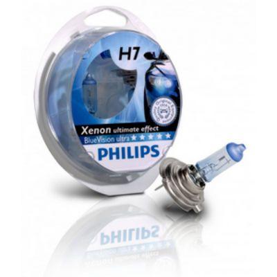 Philips Автолампа P-12972XVP2 H7 (55) PX26d+130% X-TREME VISION PLUS (2шт) 12V 9185406