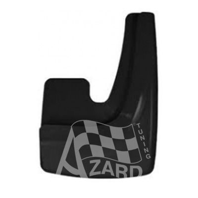 Брызговики Azard БР000007, черный, к-т 2 шт. 9171910