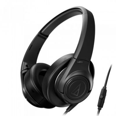 Наушники Audio-Technica ATH-AX3iS BK