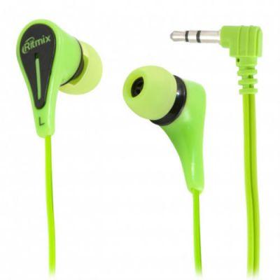 Наушники Ritmix RH-012 Green