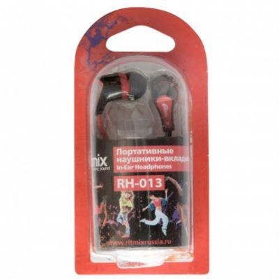 Наушники Ritmix RH-013 Black+Red