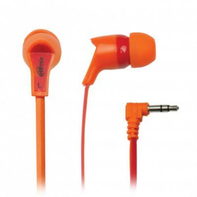 Наушники Ritmix RH-013 Orange+Red