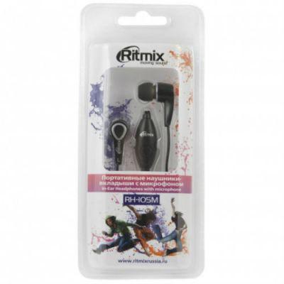 Наушники Ritmix RH-105M Black