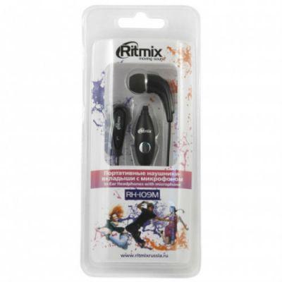 Наушники Ritmix RH-109M Black