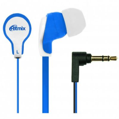 Наушники Ritmix RH-183 Blue+White