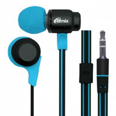 Наушники Ritmix RH-185 Black+Blue