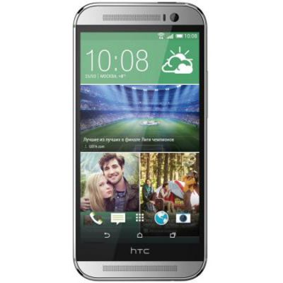 Смартфон HTC One M8 Dual Sim 16Gb Silver 99HZV018-00