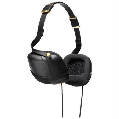 Наушники с микрофоном Molami Pleat Black & Gold