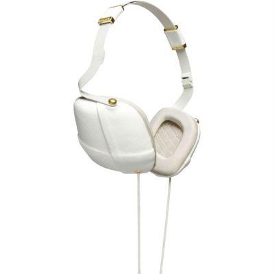 Наушники с микрофоном Molami Pleat White & Gold