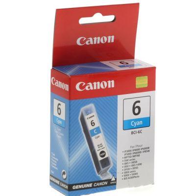 Картридж Canon BCI-6 C Cyan/Синий (4706A002)